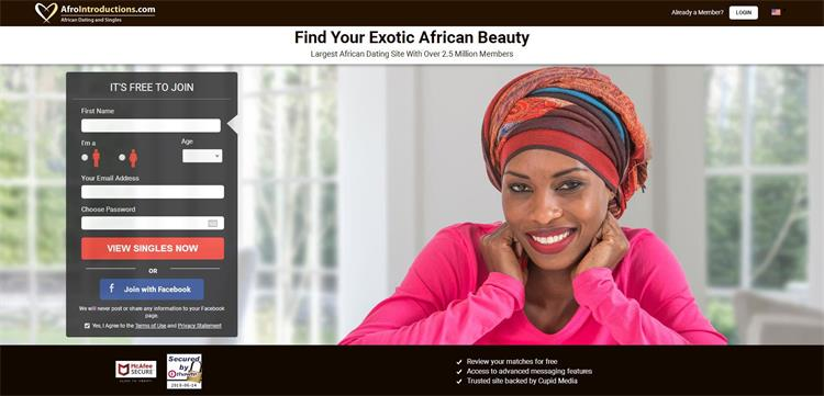 Afrointroduction african dating site