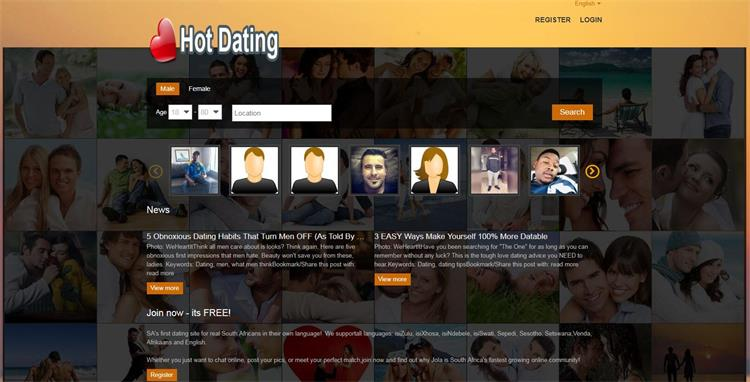 hotdating.co.za